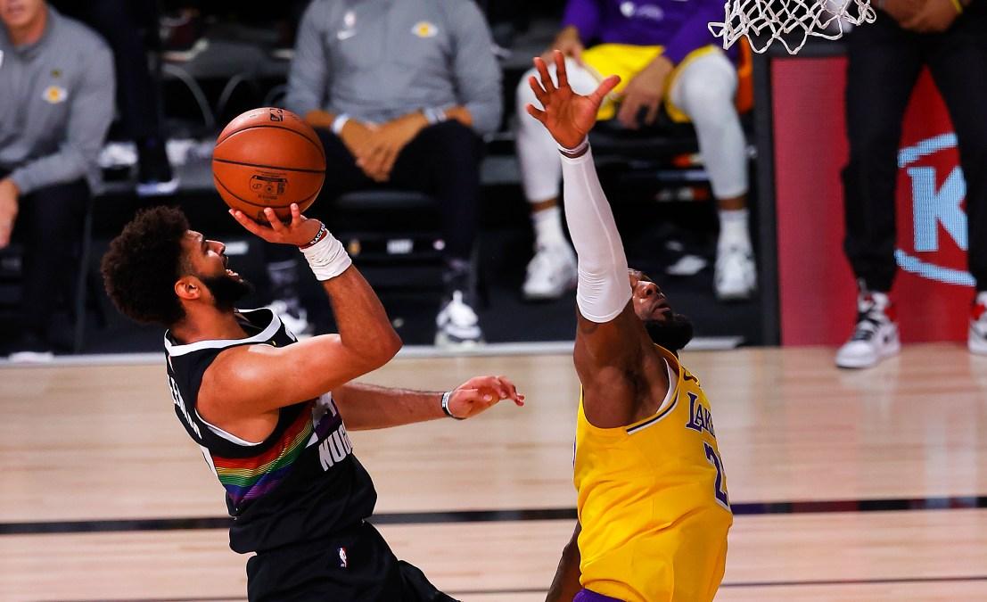 LeBron James and Jamal Murray