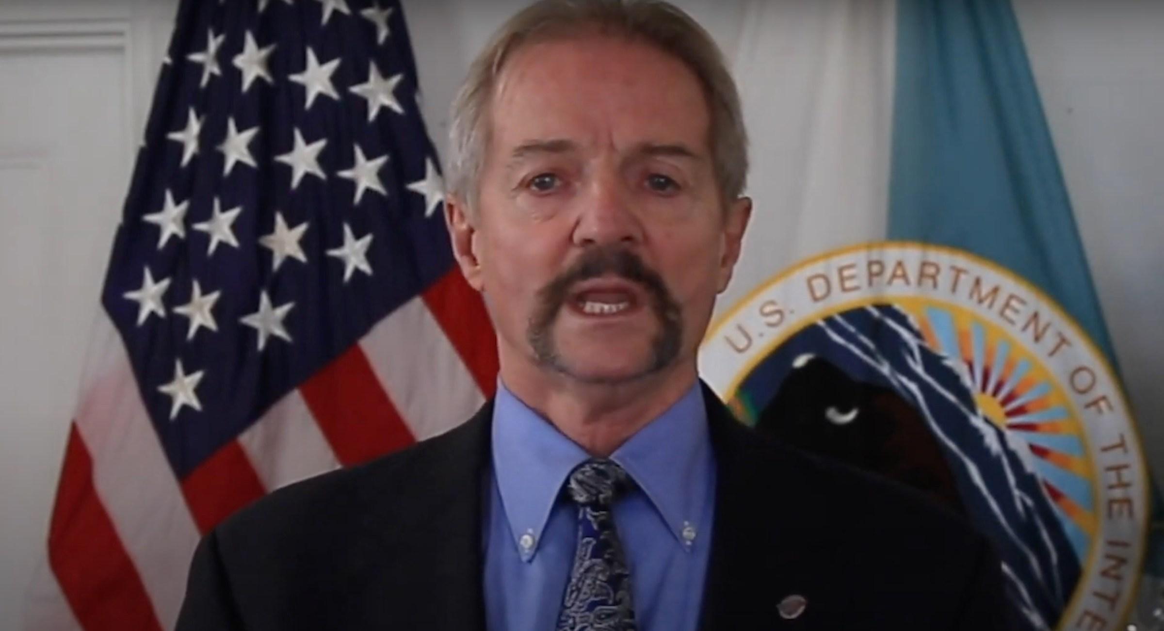 Look at Pendley's mustache