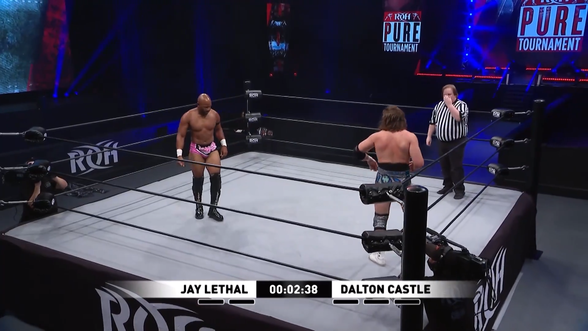 Jay Lethal and Dalton castle square off for Ring of Honor