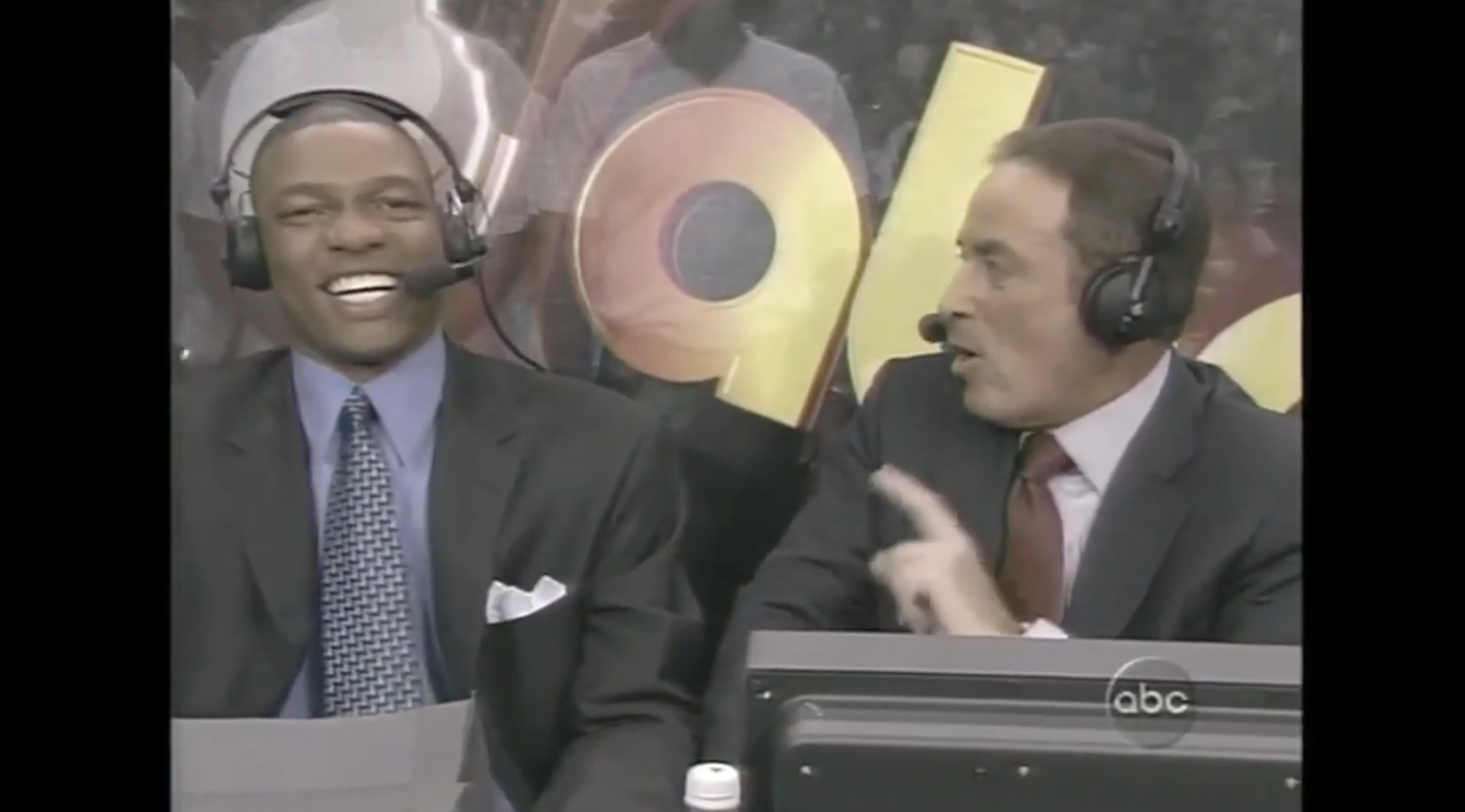 Doc Rivers and Al Michaels calling Game 1 of the 2004 NBA Finals