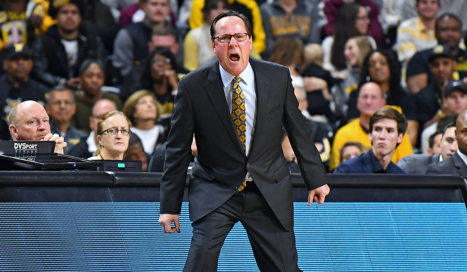 WICHITA, KS - NOVEMBER 13: of the Wichita State Shockers of the College of Charleston Cougars during the first half on November 13, 2017 at Charles Koch Arena in Wichita, Kansas. (Photo by Peter Aiken/Getty Images) *** Local Caption ***