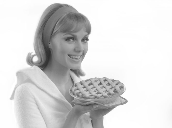 Woman With A Pie