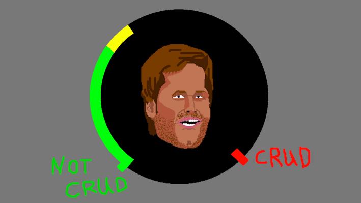 Tom Brady crud meter