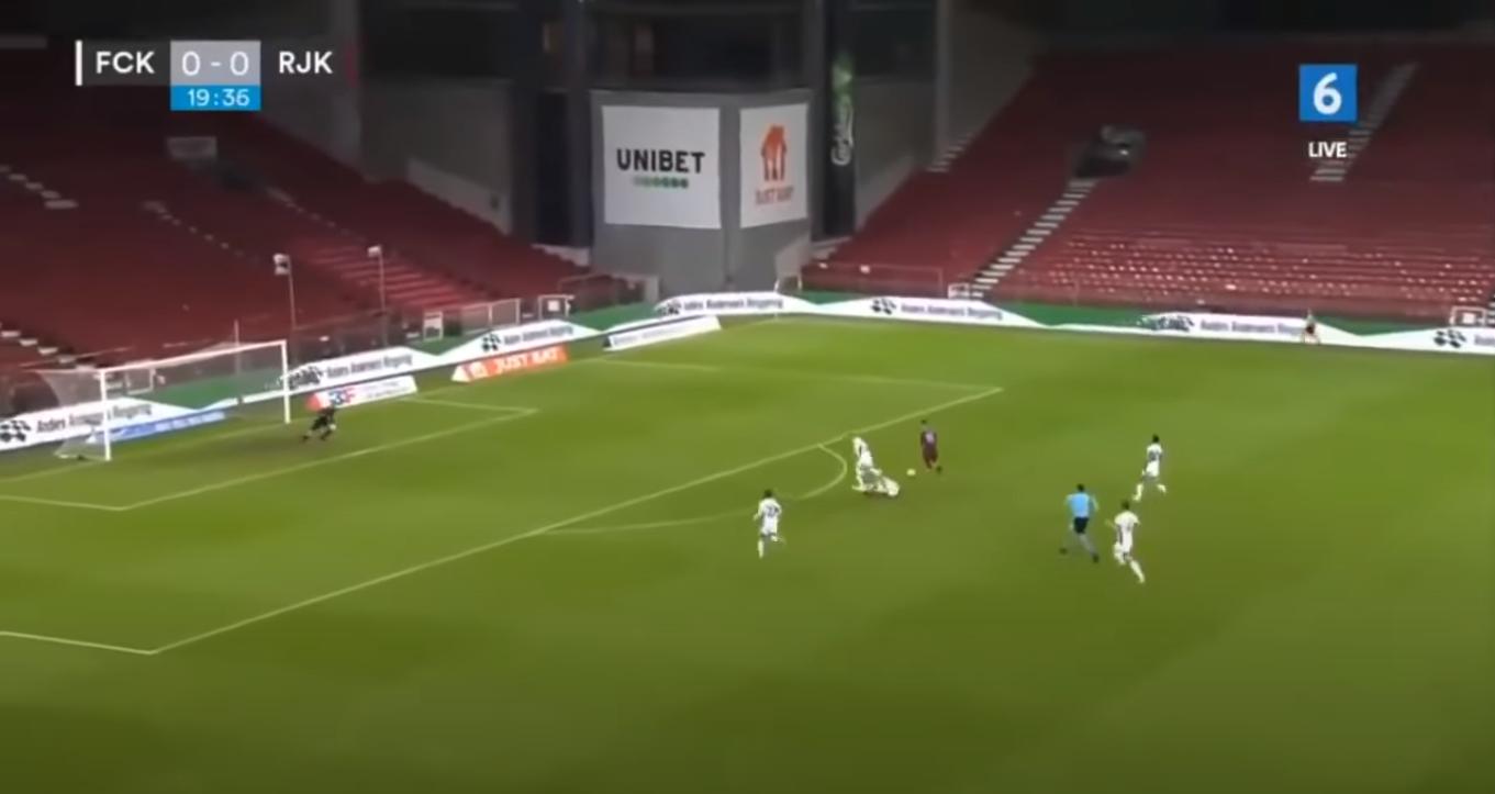HNK Rijeka scores a very stupid goal against FC Copenhagen in the Europa League