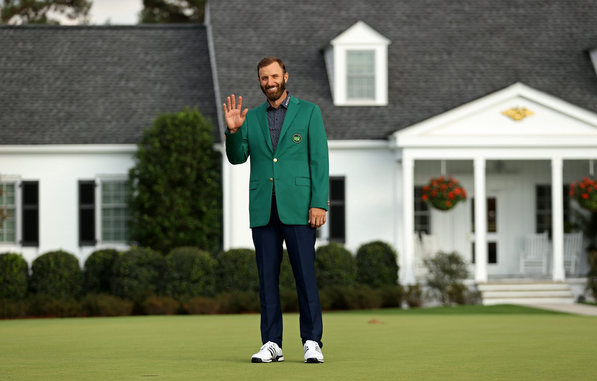Dustin Johnson wears the green jacket and nobody gives a crap.