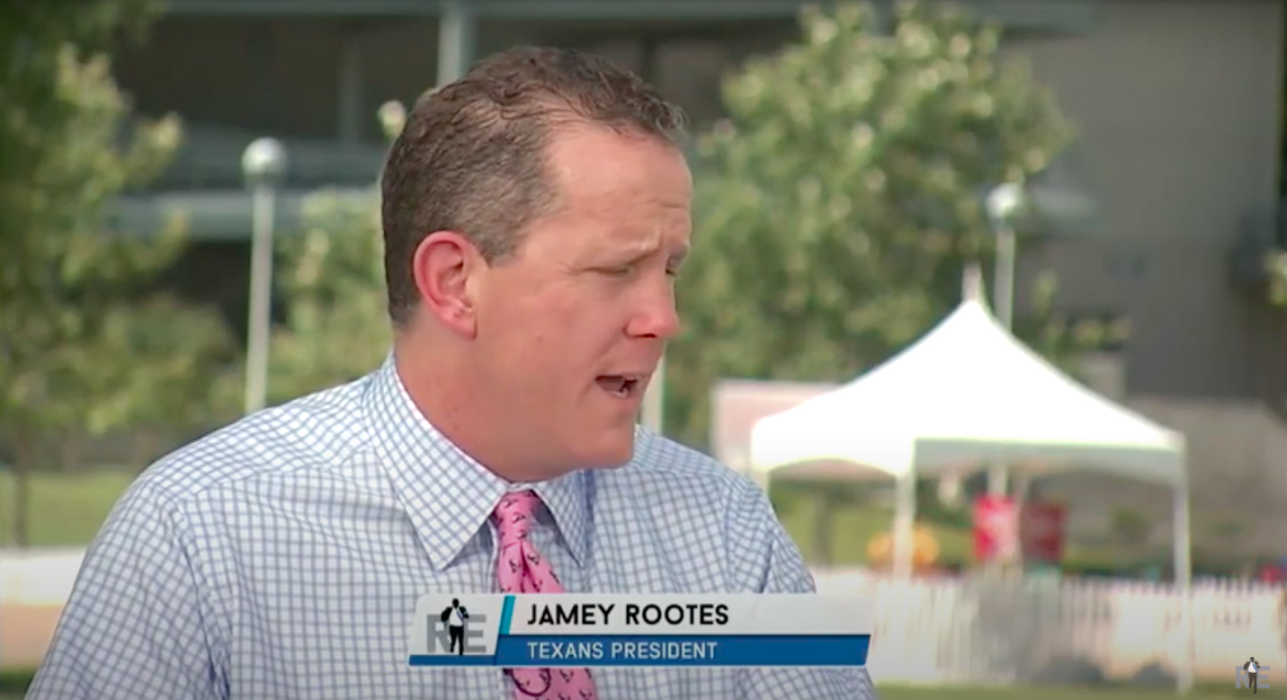 Houston Texans president Jamey Rootes