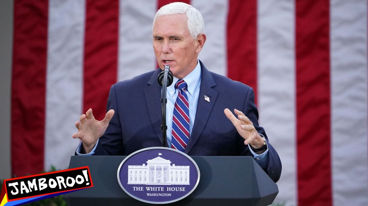 """US Vice President Mike Pence delivers an update on """"Operation Warp Speed"""" in the Rose Garden of the White House in Washington, DC on November 13, 2020. (Photo by MANDEL NGAN / AFP) (Photo by"""
