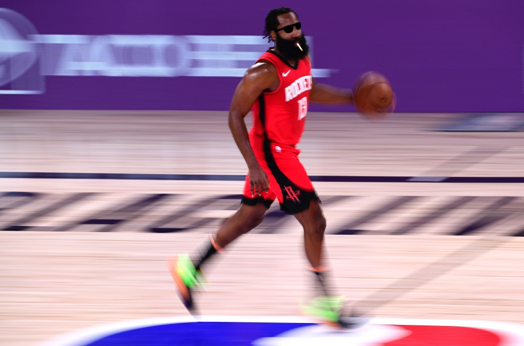 James Harden looking extremely cool