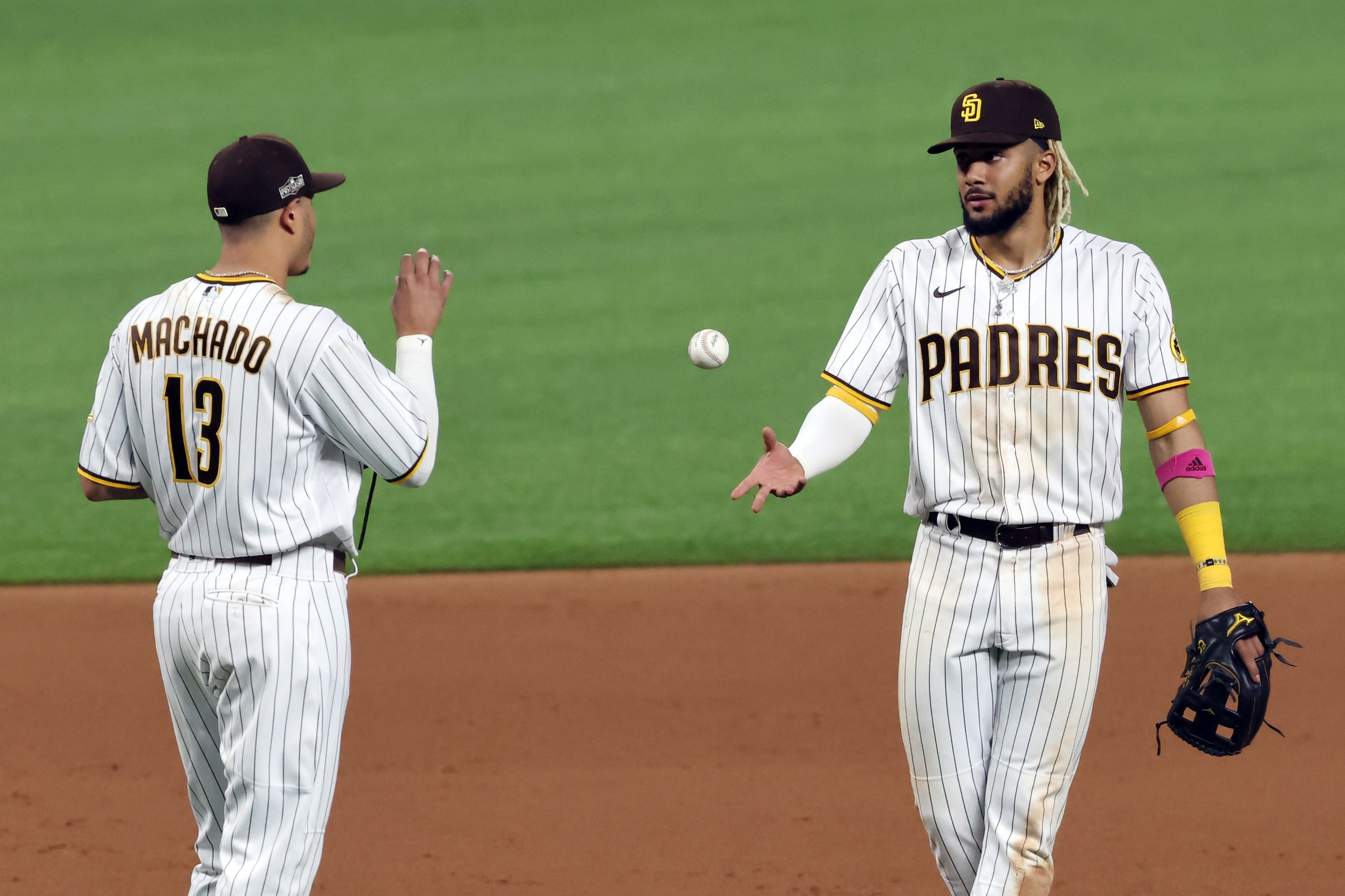 Fernando Tatis Jr. and Manny Machado, two good players the Padres already have.