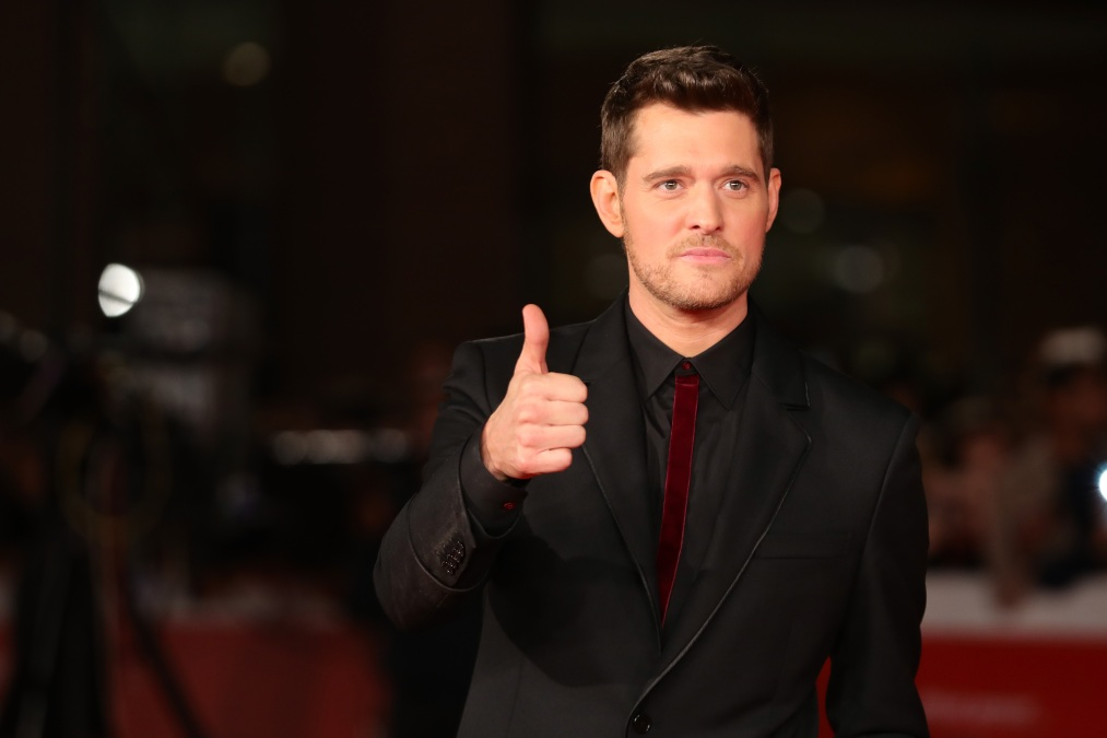 Michael Buble walks a red carpet for 'Tour Stop 148' during the 11th Rome Film Festival at Auditorium Parco Della Musica on October 14, 2016 in Rome, Italy.
