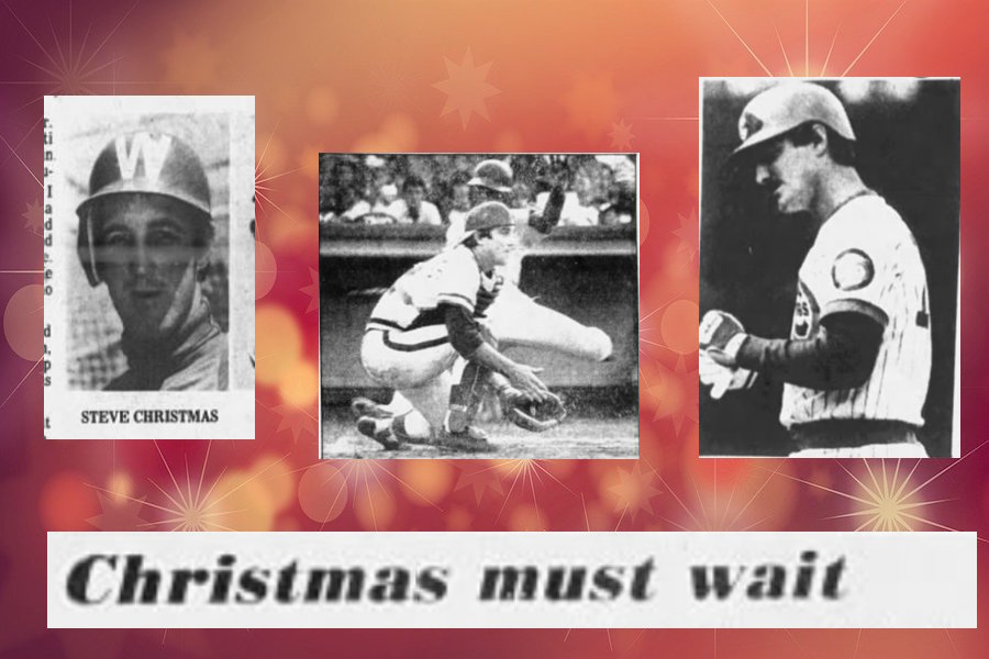 Some pictures of Steve Christmas, a real baseball guy!