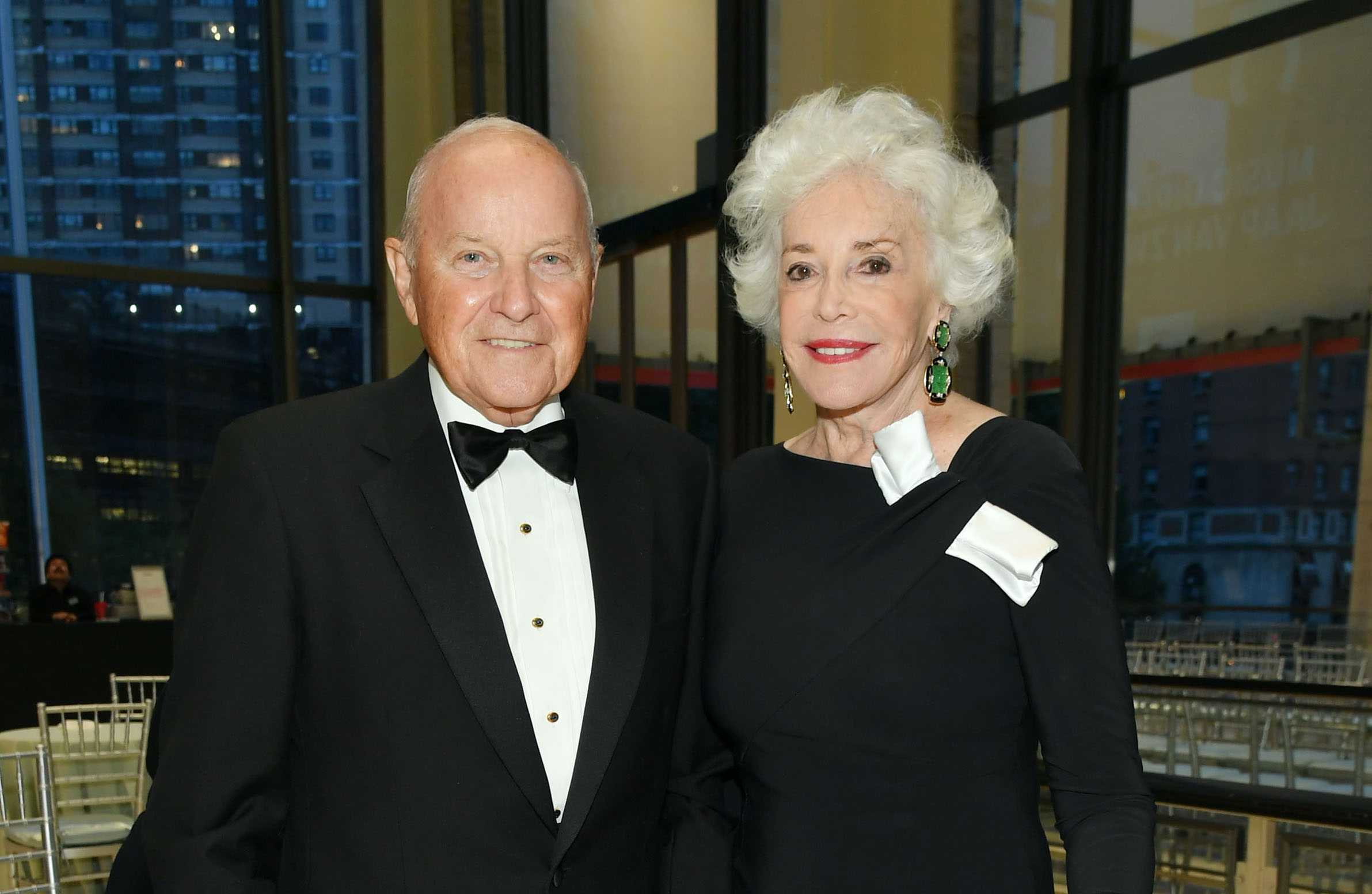 Charles and Ann Johnson at a charity benefit that's not for like Laura Loomer.