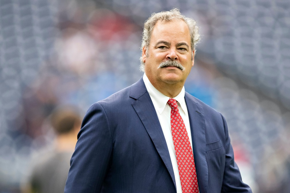 Owner Cal McNair of the Houston Texans