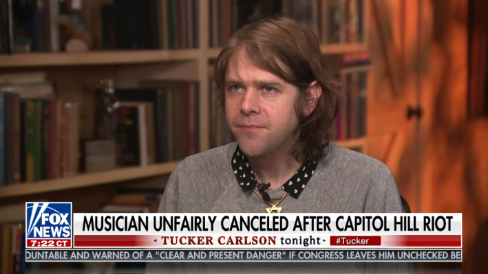 Musician Ariel Pink goes on Tucker Carlson's show to talk about his cancellation