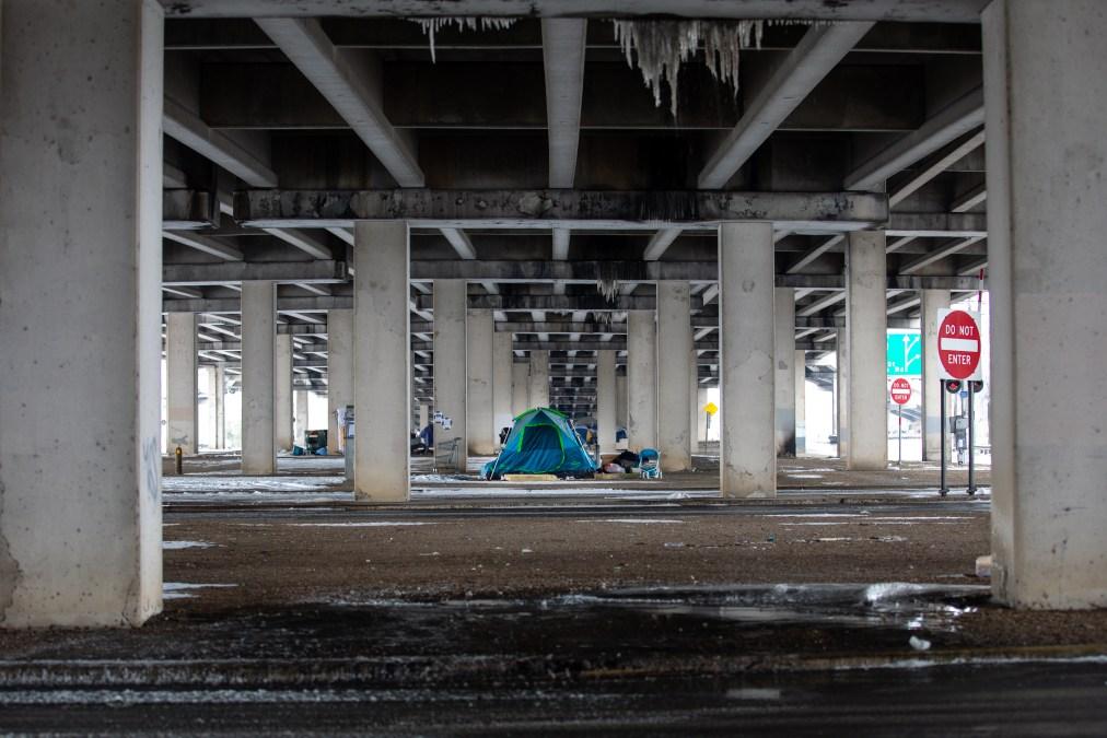 Texas underpass