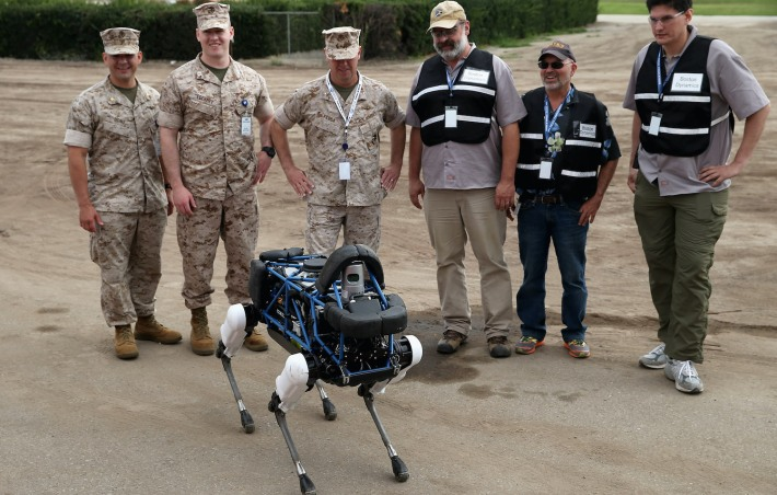 Spot competes at the DARPA Robotics Challenge Showcases Cutting Edge In Artificial Intelligence