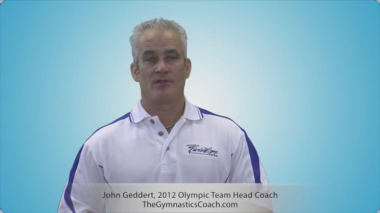 A photo of former national gymnastics team coach John Geddert.