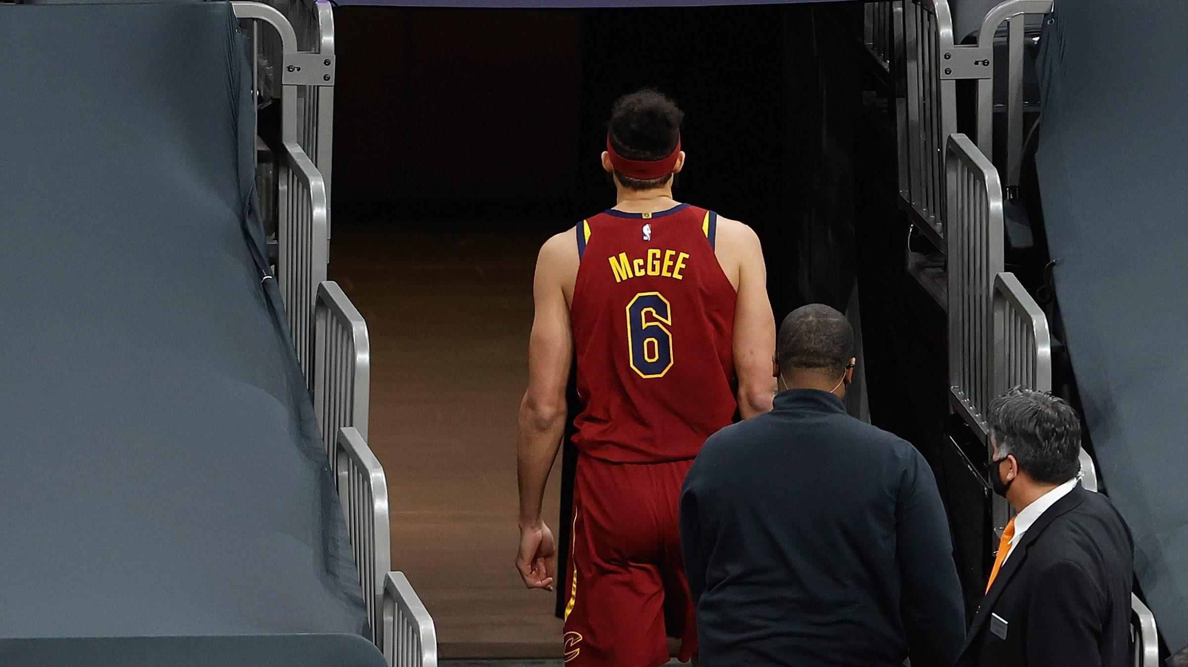 JaVale McGee, walking away