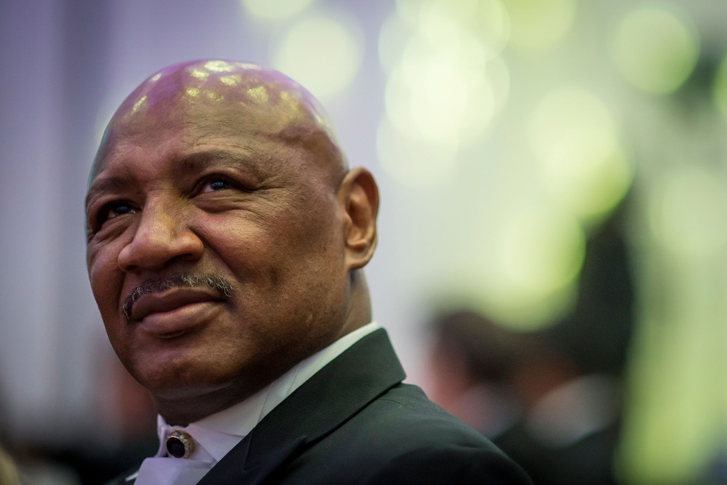 Marvin Hagler at a fundraising event in 2006.