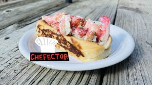 A lobster roll!