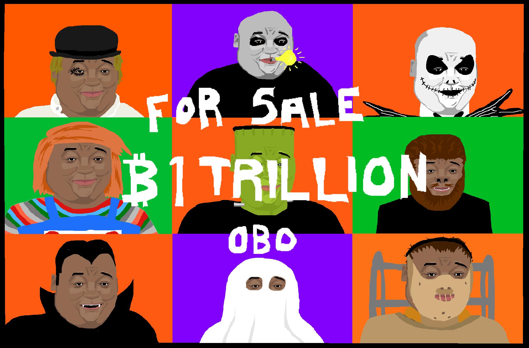 Artwork worth one trillion dollars.