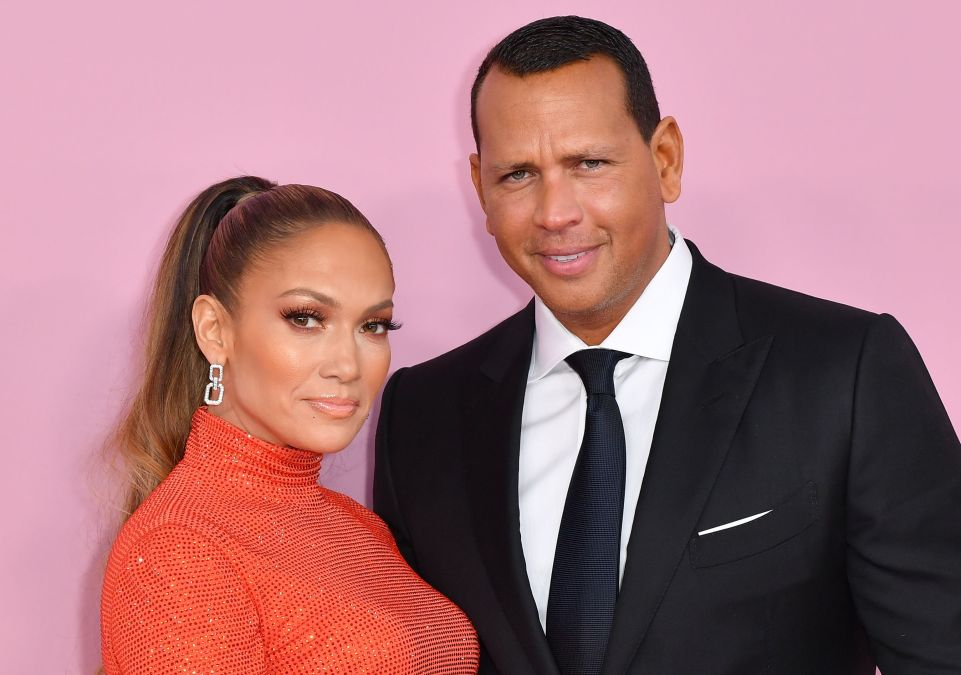 CFDA Fashion Icon Award recipient US singer Jennifer Lopez and fiance former baseball pro Alex Rodriguez arrive for the 2019 CFDA fashion awards at the Brooklyn Museum in New York City on June 3, 2019.