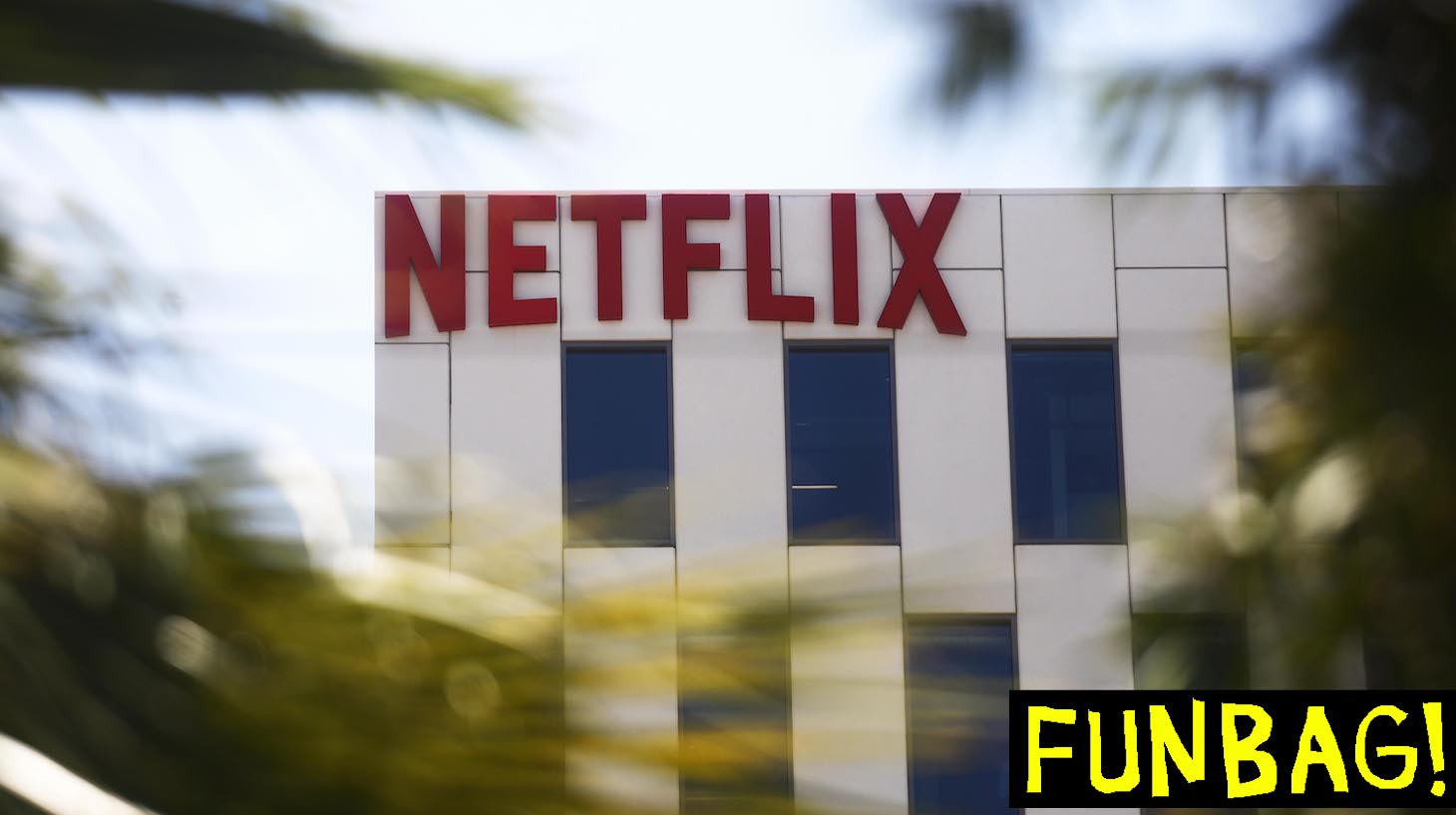 LOS ANGELES, CALIFORNIA - MAY 29: The Netflix logo is displayed at Netflix offices on Sunset Boulevard on May 29, 2019 in Los Angeles, California. Netflix chief content officer Ted Sarandos said the company will reconsider their 'entire investment' in Georgia if a strict new abortion law is not overturned in the state. According to state data, the film industry in Georgia contributed $2.7 billion in direct spending while supporting 92,000 local jobs. (Photo by Mario Tama/Getty Images)