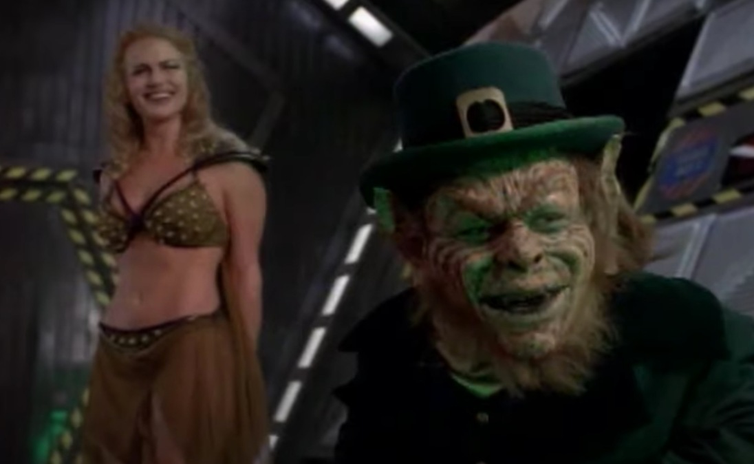 There he is! That's Leprechaun!