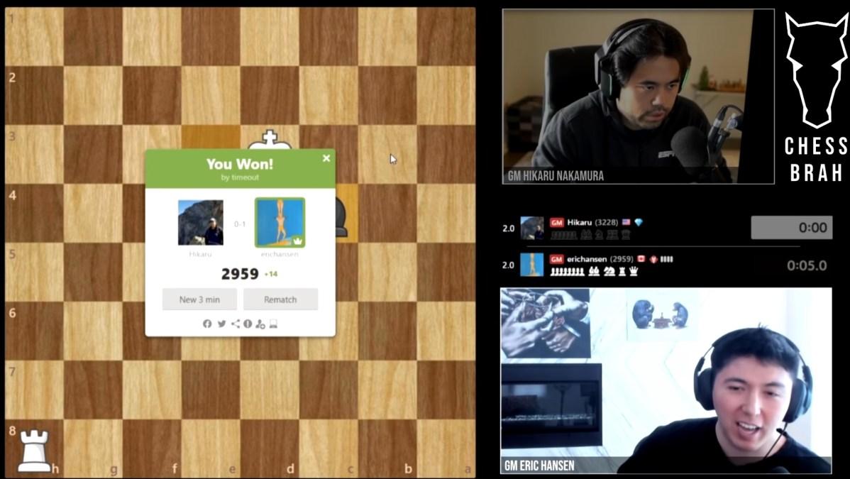 Hansen and Nakamura getting heated.
