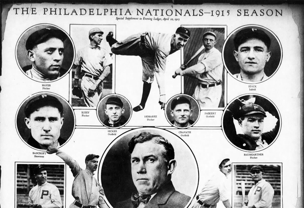 Photos of the 1915 Phillies