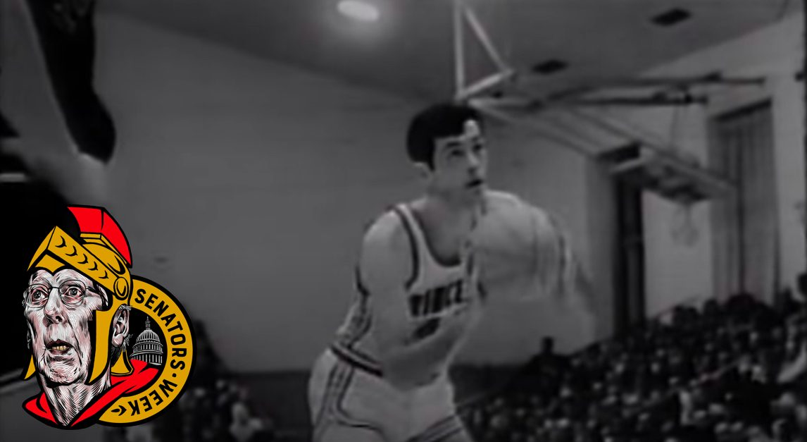 Bill Bradley of the Princeton Tigers attempts a free throw.