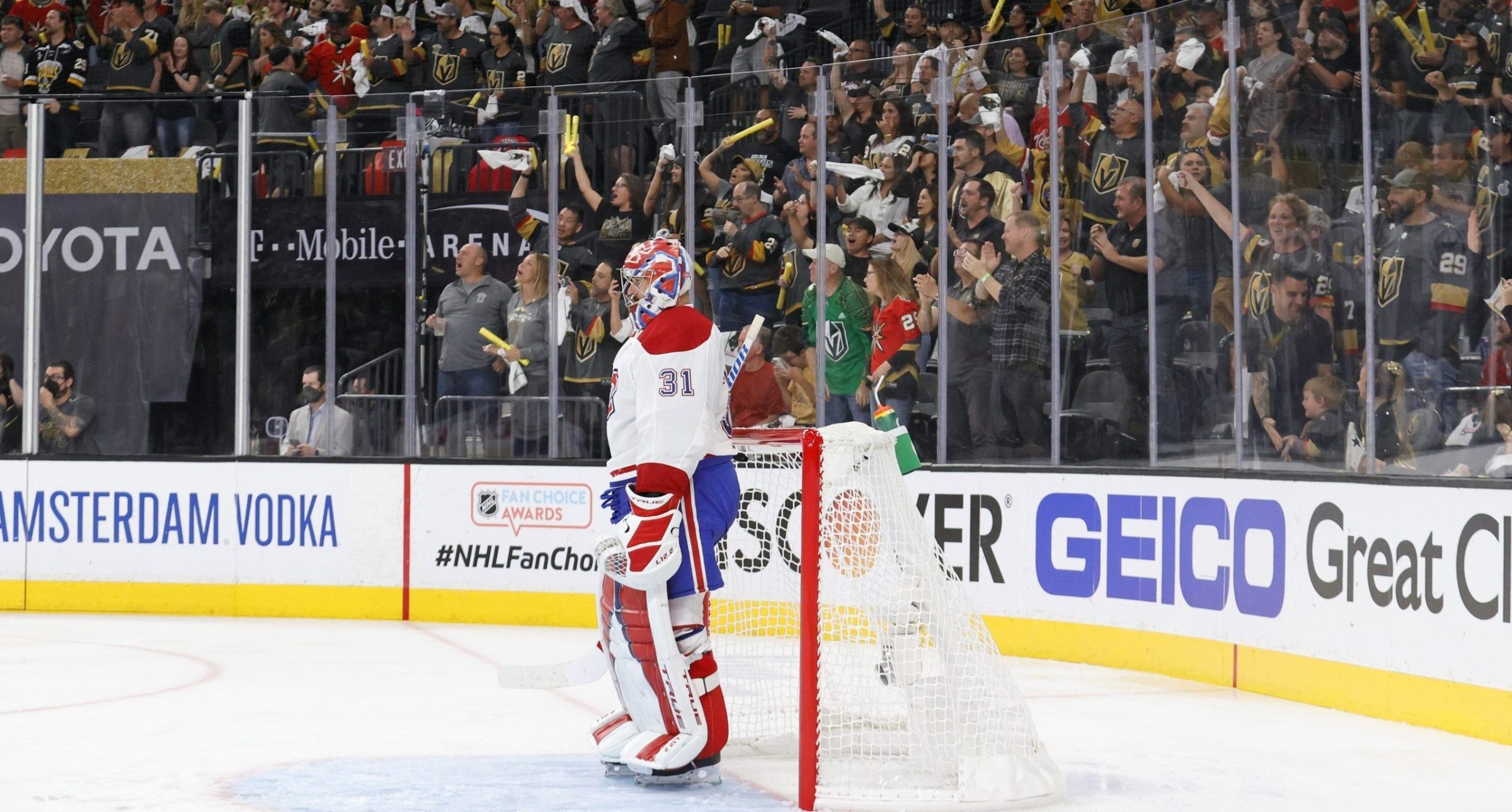 Carey Price stands in the crease