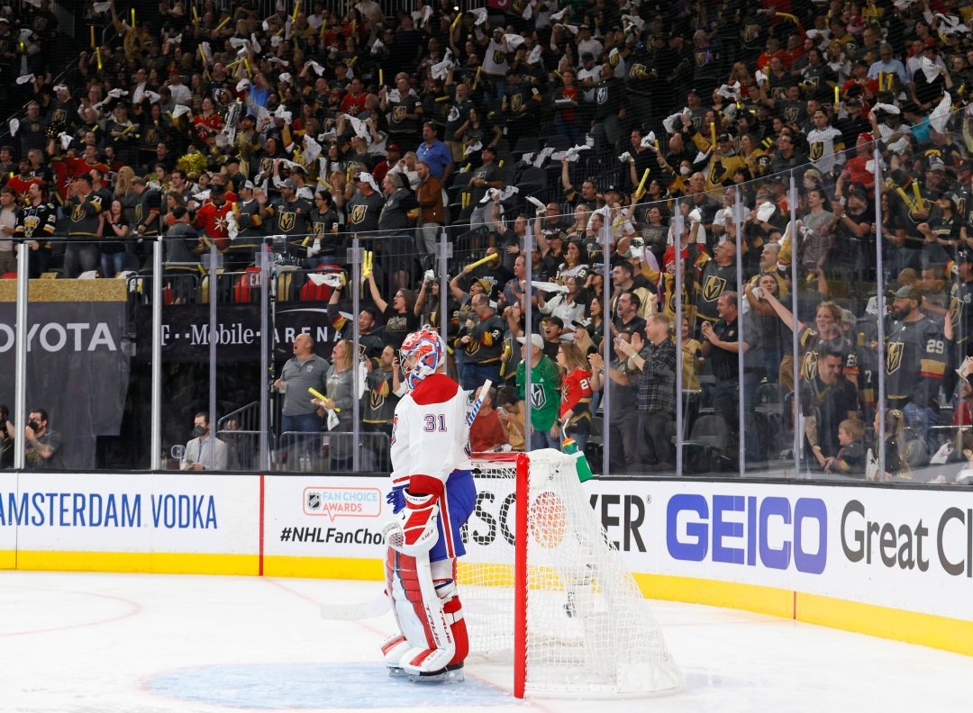 The Knights Were So Rude To Carey Price