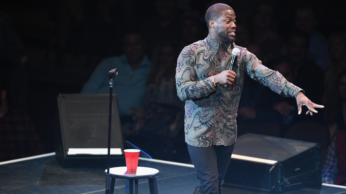 attends Kevin Hart hosts Mohegan Sun's 20th Anniversary Comedy All-Star Gala starring Sarah Silverman, Dave Attell, Margaret Cho & more at Mohegan Sun on October 14, 2016 in Uncasville, Connecticut.