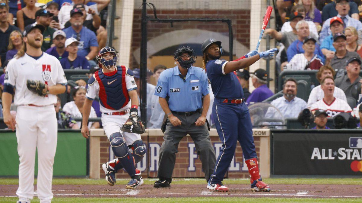 Vladimir Guerrero Jr. hits a home run