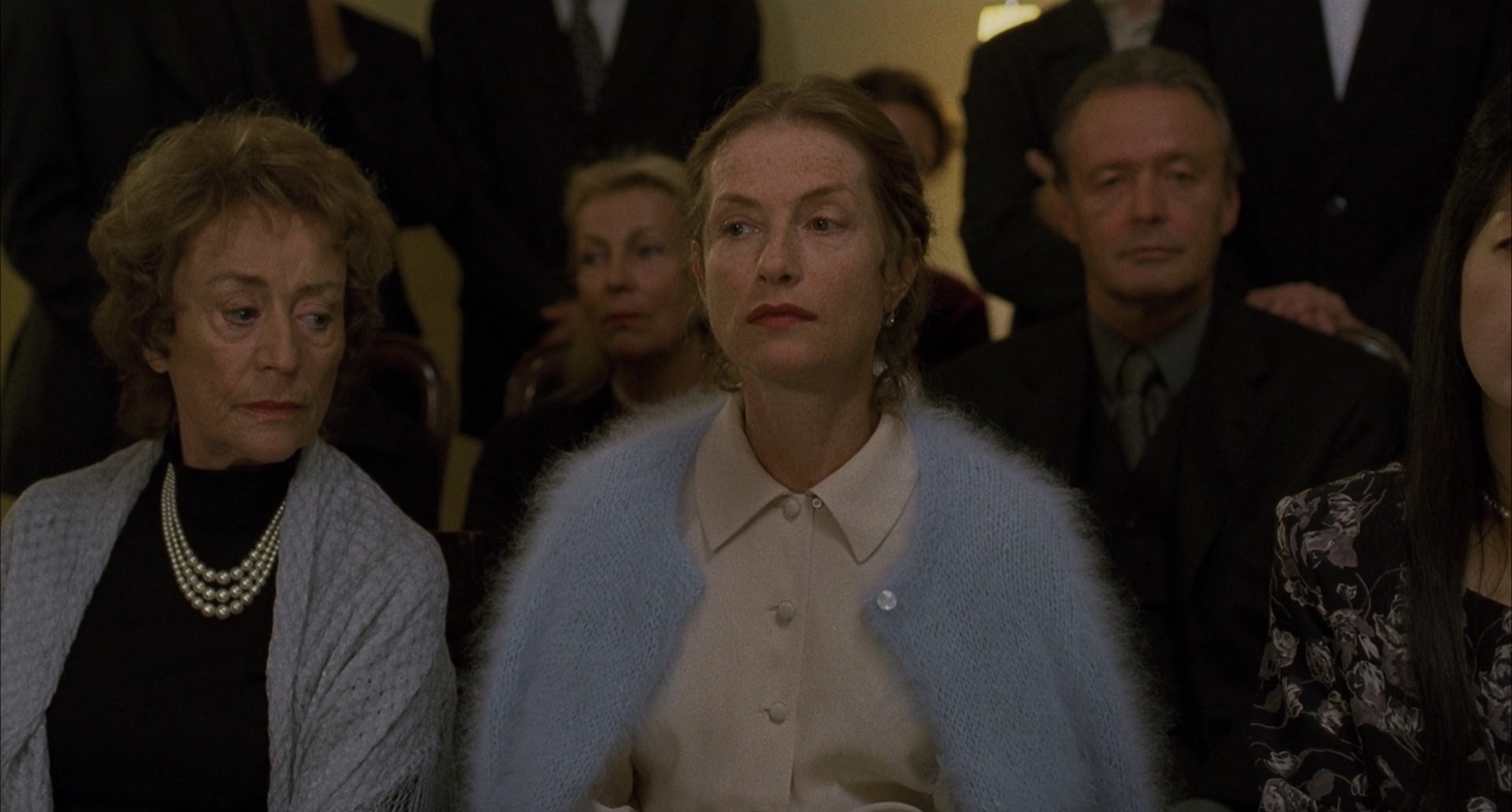 Still image from The Piano Teacher.
