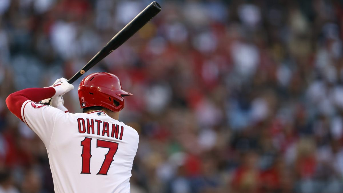 Shohei Ohtani at bat