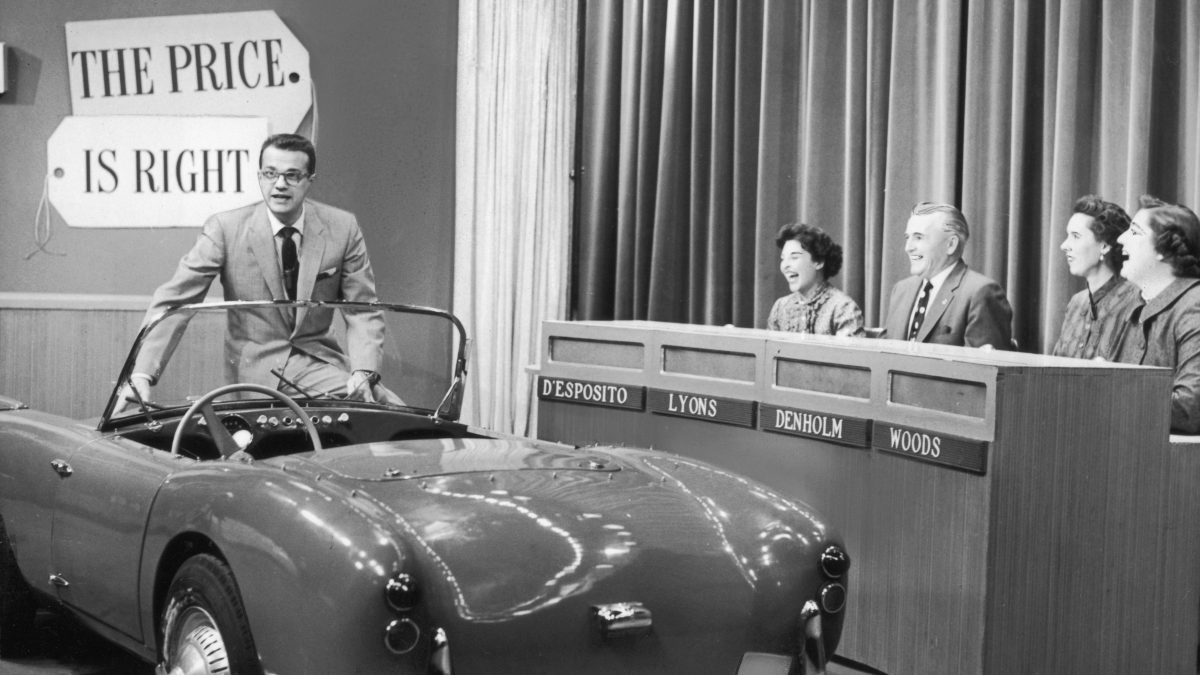 Archive 1960 photo of The Price Is Right