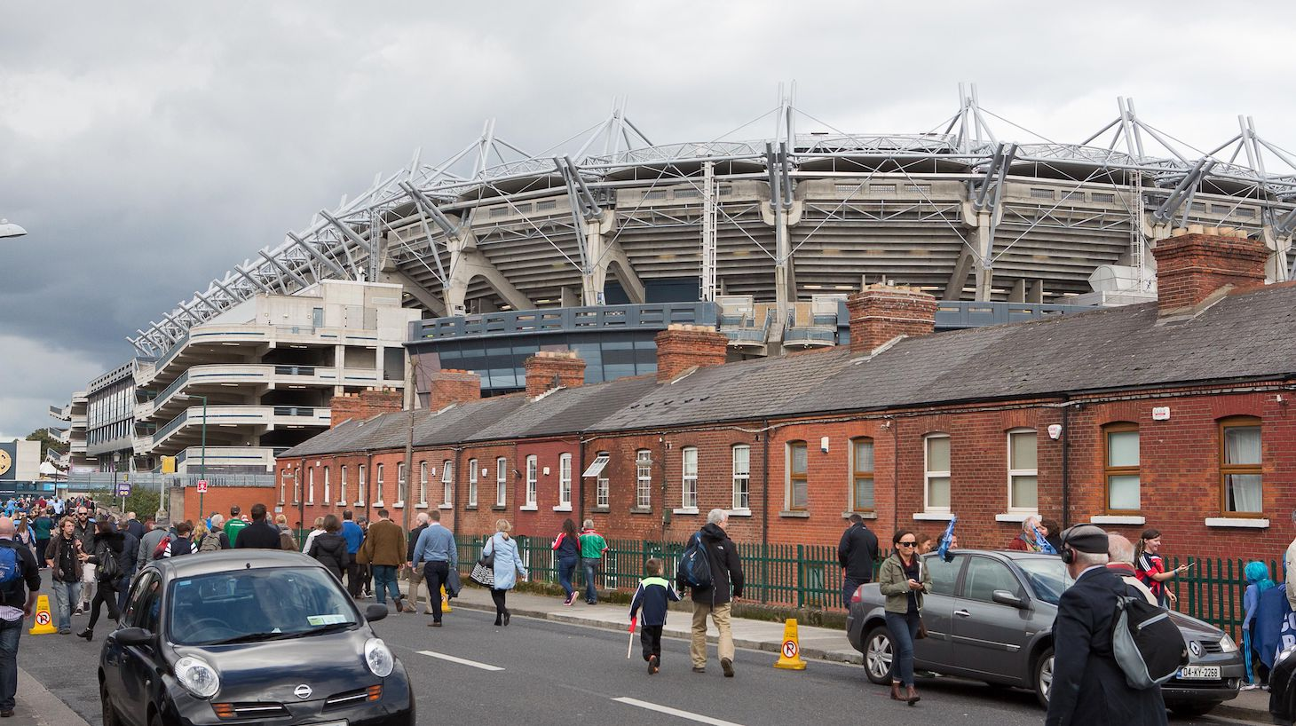The biggest crowd in Europe on Saturday will not be watching detached professionals kissing the badge of their latest football team, but at the All-Ireland Gaelic football final. Two amateur teams, Dublin and Mayo, will attempt to win the coveted All-Ireland trophy for Gaelic football in a replay following a rare draw two weeks ago.