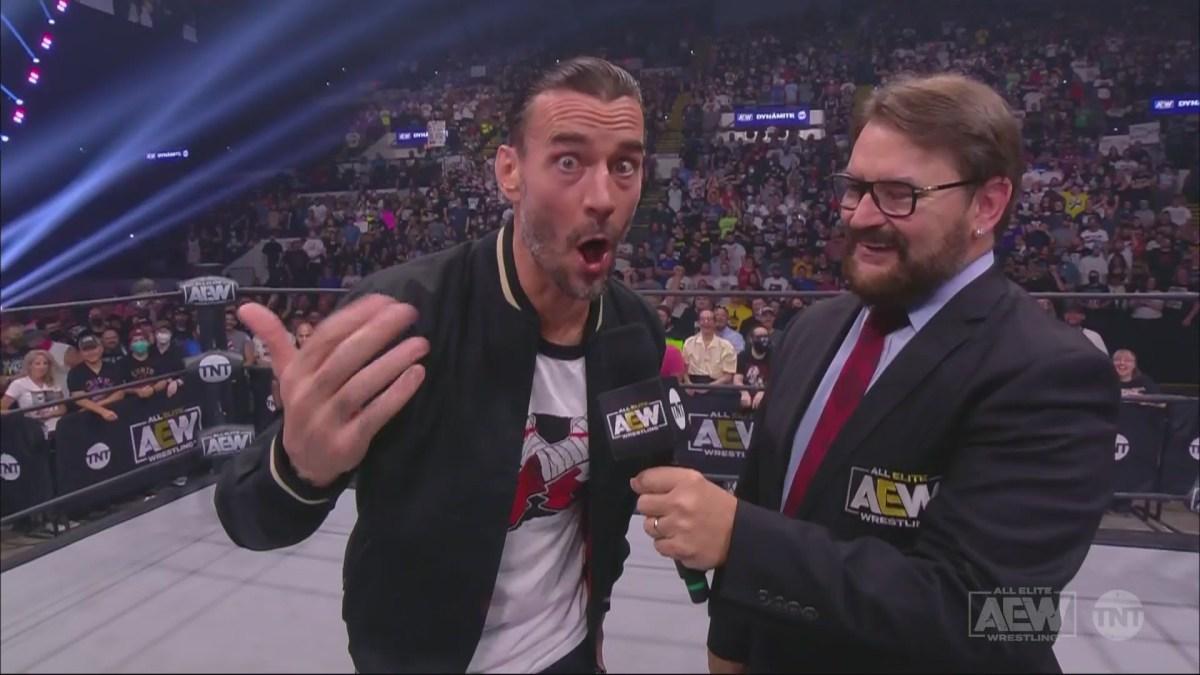 CM Punk debuts on AEW Dynamite
