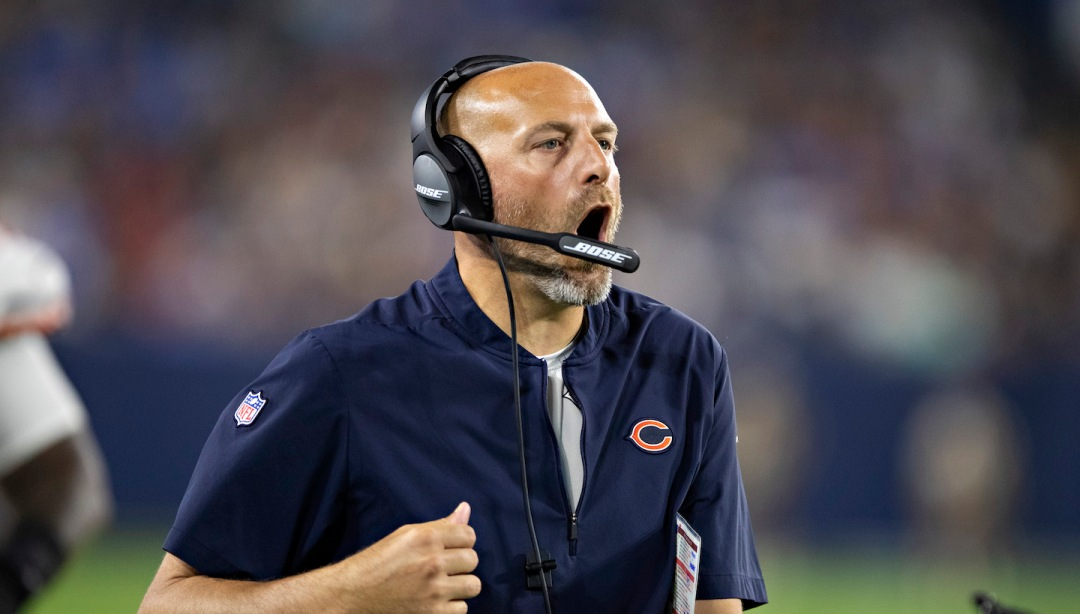 Matt Nagy Can't Stop Talking About How This Is His Fault