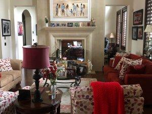 Urban Meyer's living room