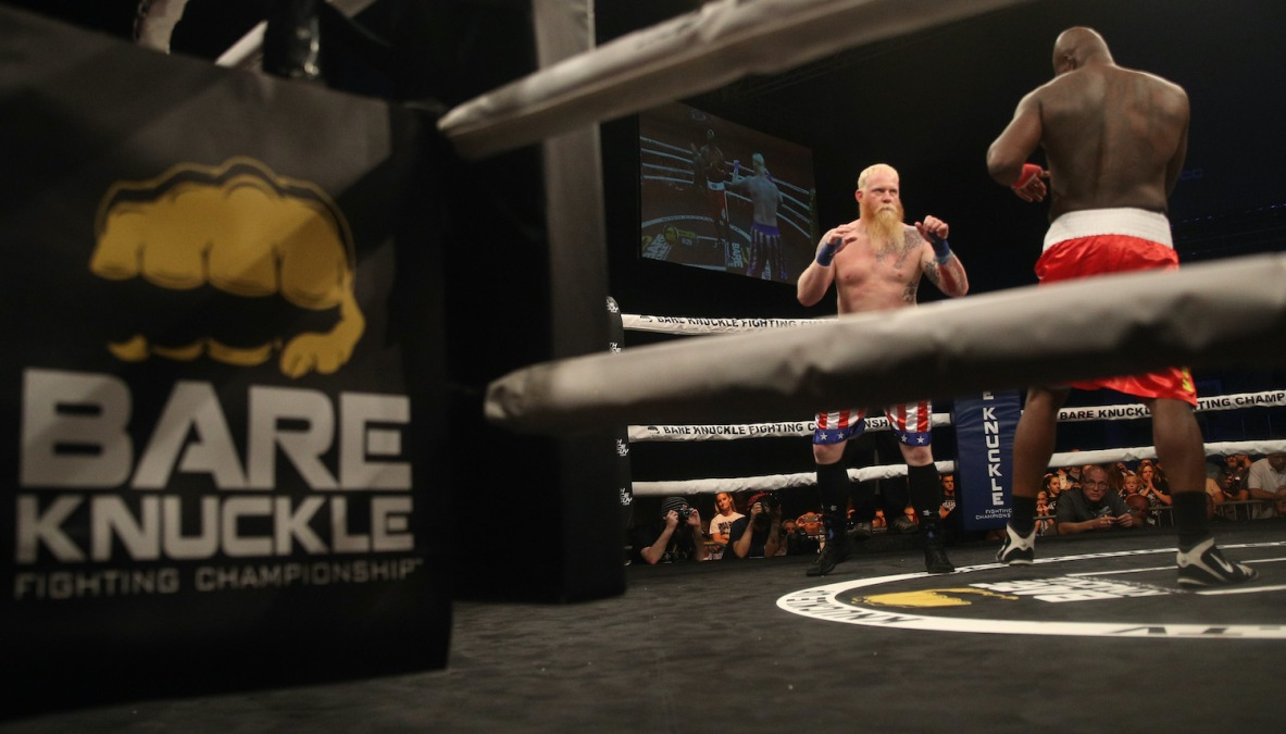 during the Bare Knuckle Fighting Championship 2: A New Era at Mississippi Coast Coliseum on August 25, 2018 in Biloxi, Mississippi.
